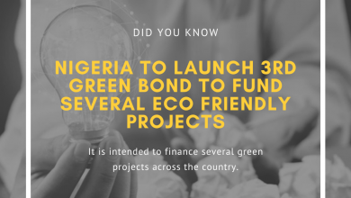 NIGERIA: To launch 3rd Green Bond to fund several eco-friendly projects